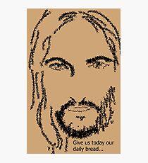 Jesus of Nazareth praying Photographic Print