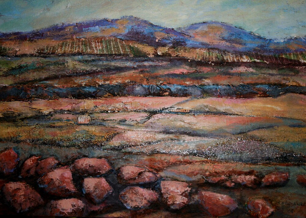Granite Pastoral by robyn nuttall