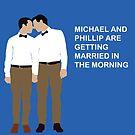 Michael and Phillip for Midsumma by FREDtheALIENpro