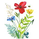 Wildflowers by Catherine Hamilton-Veal  ©