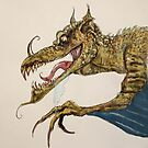 Fire Breathing Dragon illustration by Extreme-Fantasy