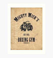 Mighty Micks Art Print