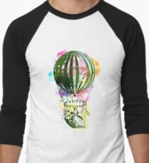Watercolor hot air baloon AP110 T-Shirt