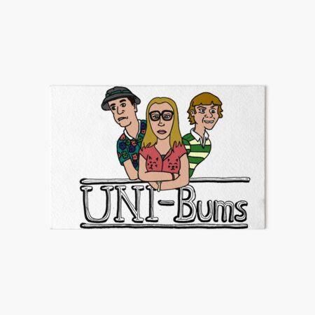 UNI-Bums Art Board Print