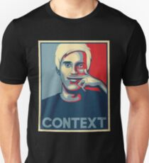 Official CONTEXT MATTERS T-Shirt :: PewDiePie © :: Limited Edition T-Shirt