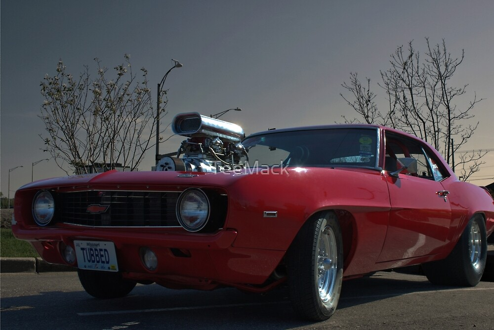 1969 Camaro Dragster by TeeMack