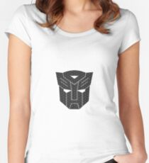 AUTOBOT Women's Fitted Scoop T-Shirt