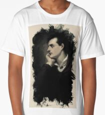 Young Faces from the past Series by Adam Asar, No 18 Long T-Shirt
