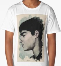Young Faces from the past Series by Adam Asar, No 14 Long T-Shirt