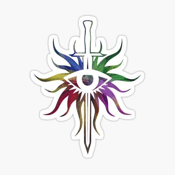 Rainbow inquisition logo Sticker