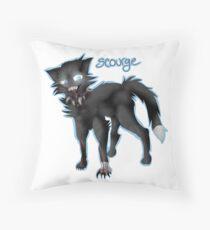 Warriors #1 SCOURGE  Throw Pillow