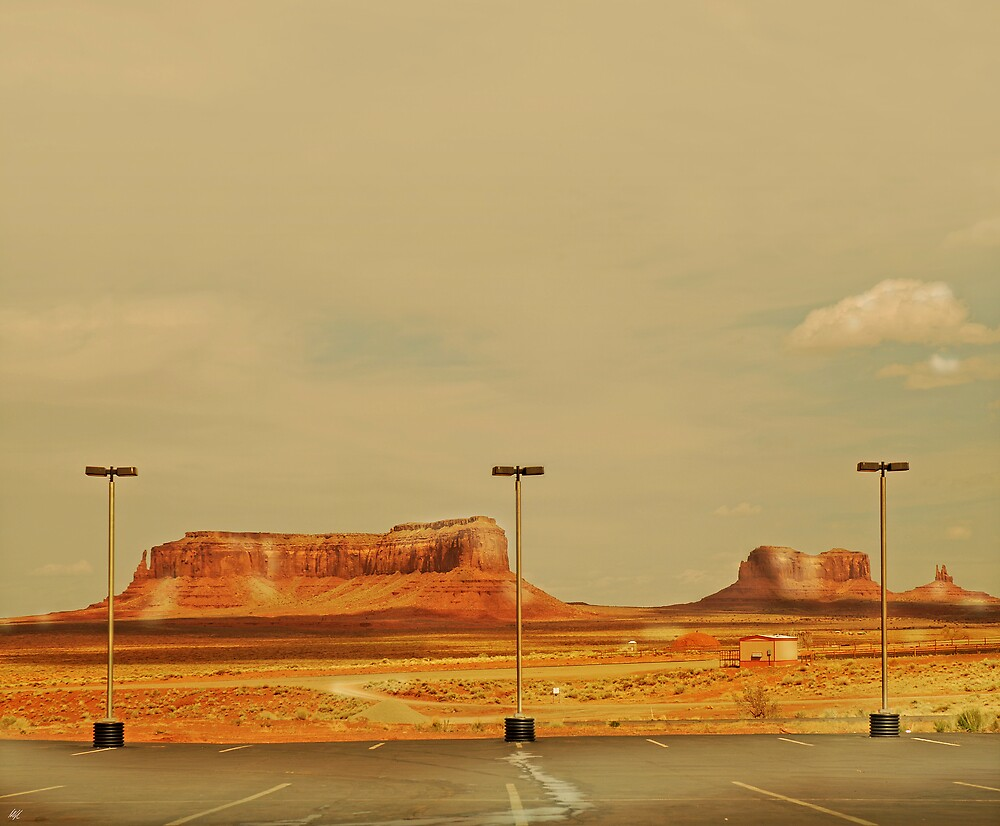 Monumental carpark by Paul Vanzella