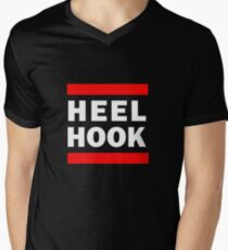 Heel Hook Brazilian Jiu Jitsu (BJJ) Men's V-Neck T-Shirt