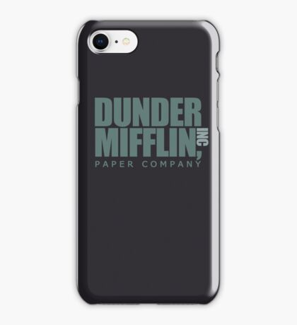 Dunder Mifflin Paper Company  iPhone Case/Skin