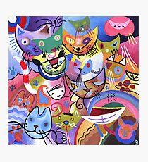 Kandinsky's Kats Photographic Print