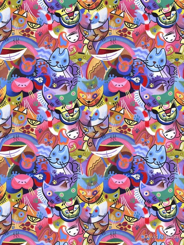 Kandinsky's Kats by wavynewt