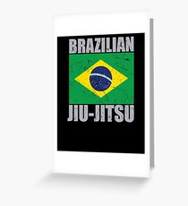 Brazilian Jiu Jitsu (BJJ) Greeting Card