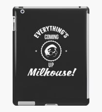 Everything's Coming up Milhouse Vintage in White iPad Case/Skin