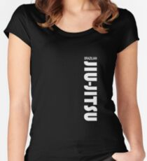 Brazilian Jiu Jitsu (BJJ) Women's Fitted Scoop T-Shirt