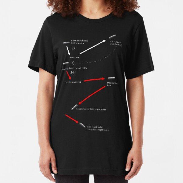 JFK - Magic Bullet Theory Slim Fit T-Shirt