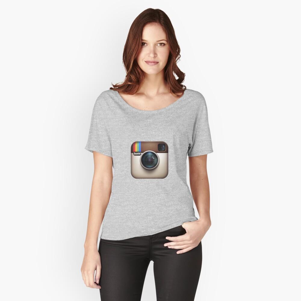 Instagram Loose Fit T-Shirt