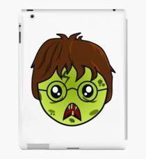 Zombie wizard #1 iPad Case/Skin