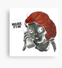 Alien mulder Metal Print