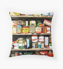 On the Shelves Throw Pillow