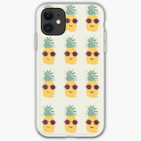 pineapple dude iPhone Soft Case