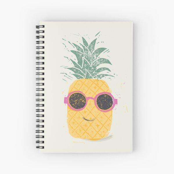 Pineapple dude Spiral Notebook