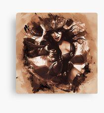 League of Legends SNOWSTORM SIVIR Canvas Print