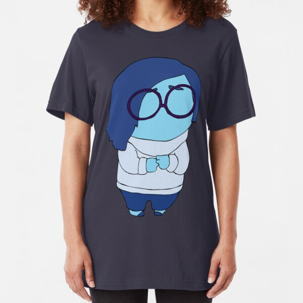 Sadness Slim Fit T-Shirt