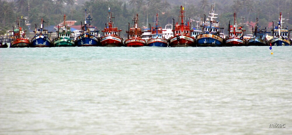 1 boat 2 boat 3 boat rock by mikec