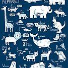 Animal Alphabet by ShakeyIllustra