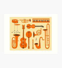 Just Jazz Art Print