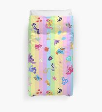 my little pony collage Duvet Cover