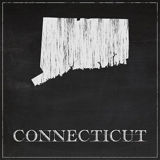 Connecticut - Chalk by FinlayMcNevin