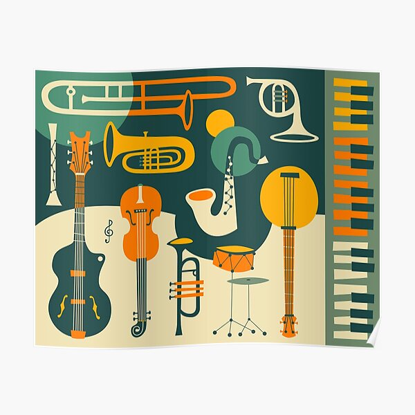 JUST JAZZ Poster