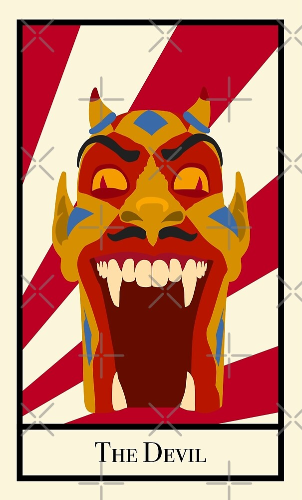 The Devil - The Circus Tarot by Jakmalone
