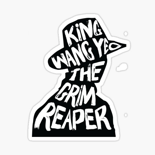 The Grim Reaper Sticker