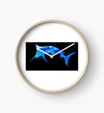 Blue Marlin Clock
