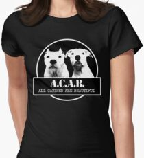 ACAB Women's Fitted T-Shirt