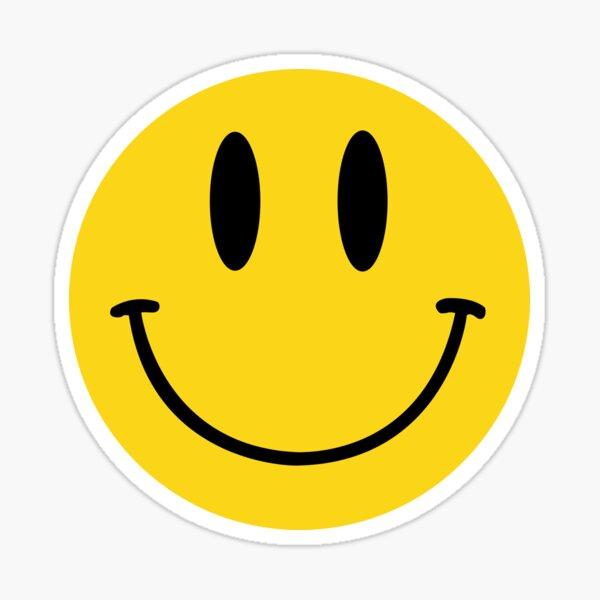 Sourire acide classique de la maison Sticker