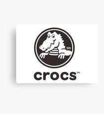 Crocs Merchandise Canvas Print