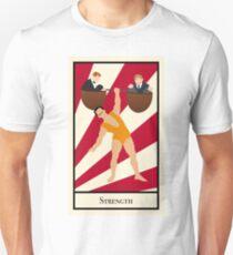 Strength - Circus Tarot Card T-Shirt