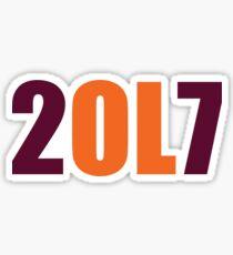 2017 VT Orientation Leader  Sticker