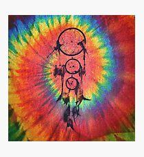 Catcher of the Vivid Nights | Tie Dye Photographic Print