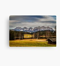 Mountain View, Austria Canvas Print