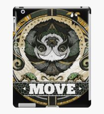 Perezoso move iPad Case/Skin
