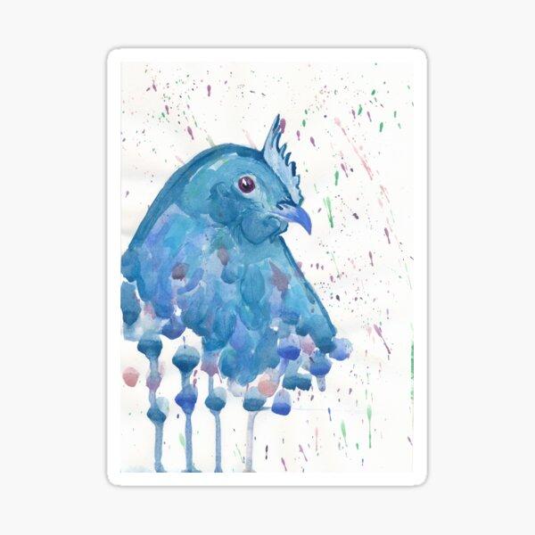 Blue Hen Sticker